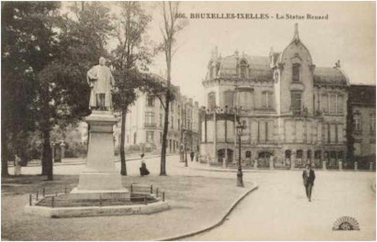 House of the architect Ernest Blerot (built in 1901-08, demolished in the early sixties)|© Anonymous/Wikicommons