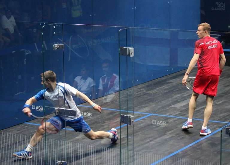 Squash at the Commonwealth Games in Glasgow 2014