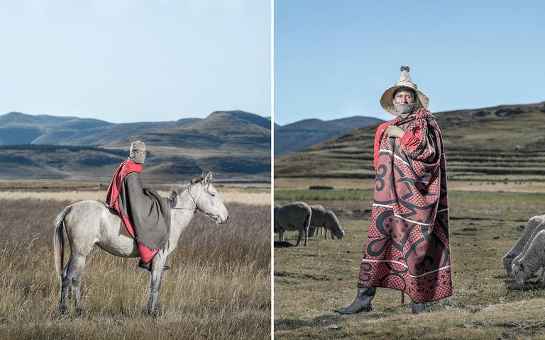 Lehlohonolo Phethoka - Ha Molajafe, Lesotho // Chabeli Mothabeng - Semonkong, Lesotho, © Thom Pierce