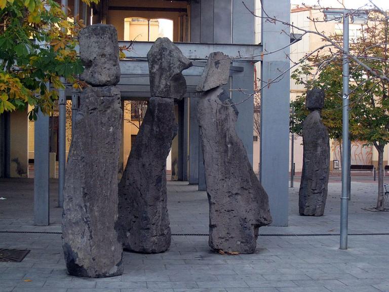 Xavier Corberó's 'Família Vapor' in Terassa (Spain) | © Enfo / WikiCommons