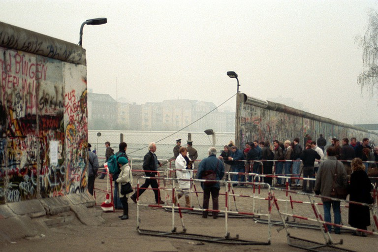 After the fall of the wall | © Frits Wiarda/WikiCommons