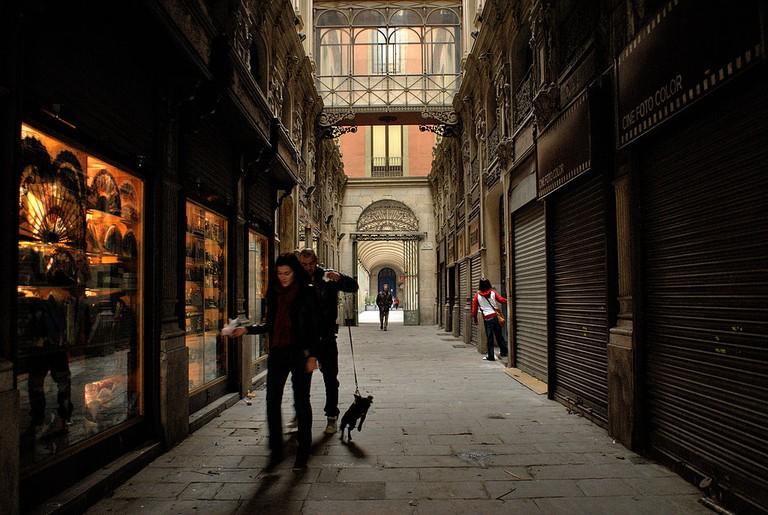 The Gothic Quarter in Barcelona | © Mstyslav Chernov / Flickr