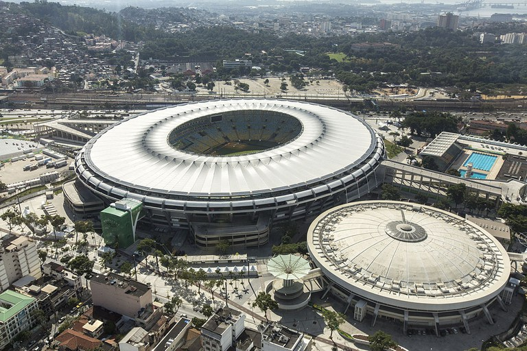 Ariel view of Maracanã and Maracanãzinho | © MarcosPassos/WikiCommons