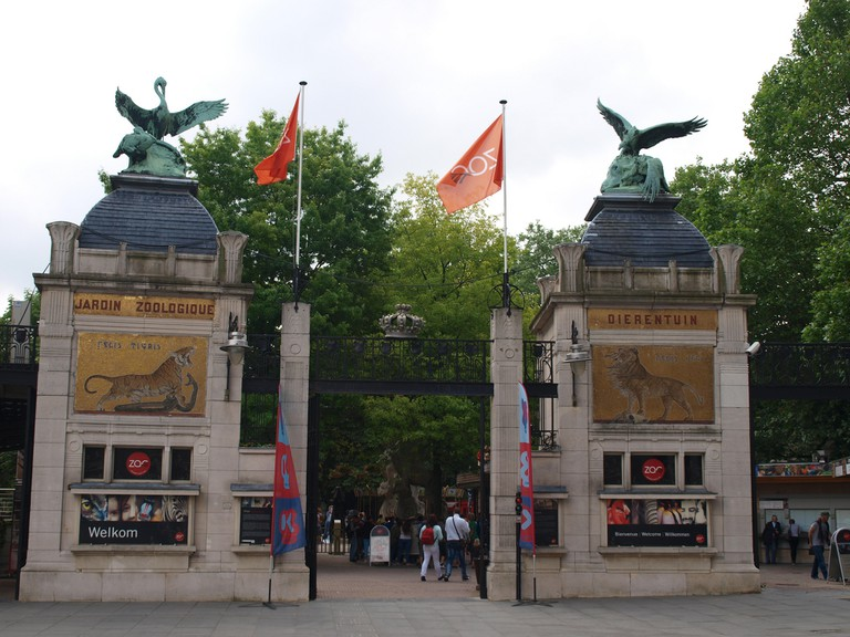 The entrance gate to the Antwerp Zoo, one of Europe's oldest | © Nigel's Europe and Beyond/Flickr