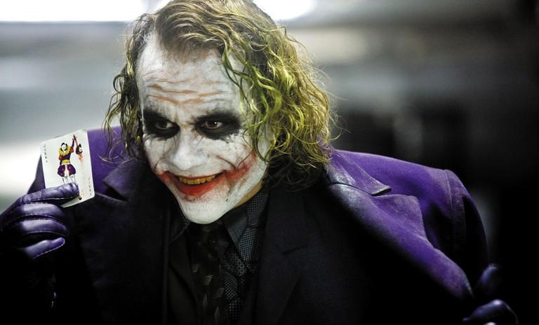 Heath Ledger as The Joker, The Dark Knight | © Warner Bros.