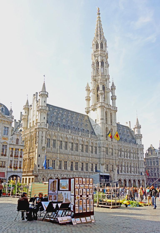 Brussels City Hall | © Dennis Jarvis/Flickr
