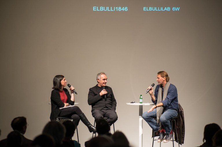 Ferran Adrià at a conference at the Cleveland Museum of Contemporary Art / Flickr