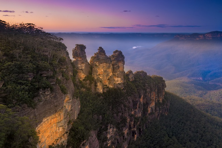 View from Echo Point of the 'Three Sisters' in the Blue Mountains | © Andrii Slonchak / Flickr