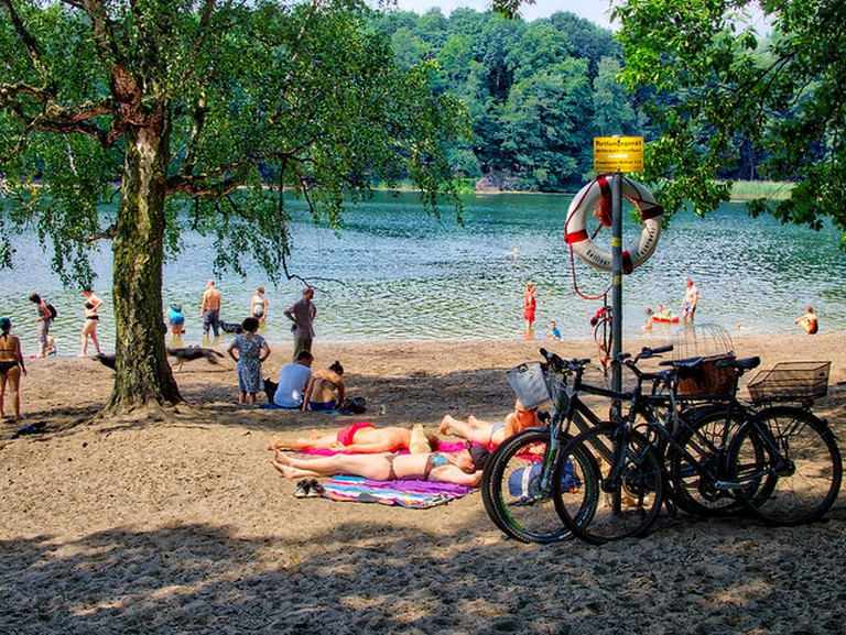 By the lake at Grunewald