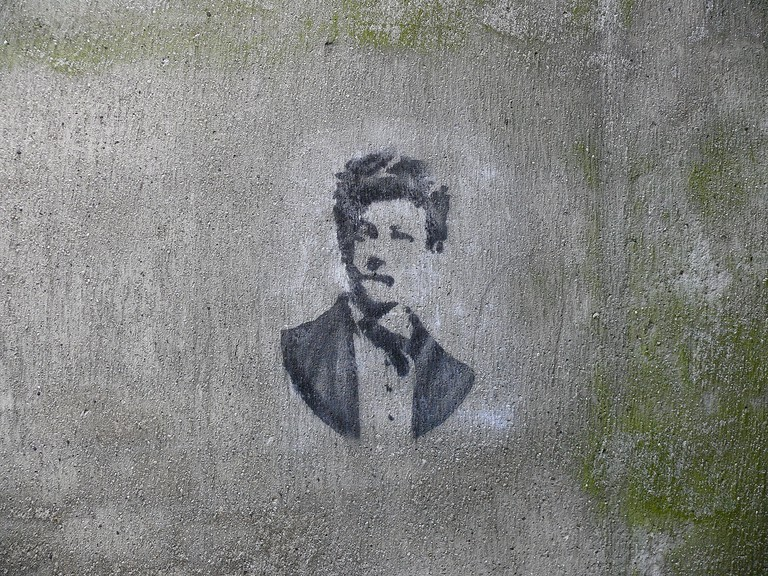 Arthur Rimbaud © Delaville/Flickr