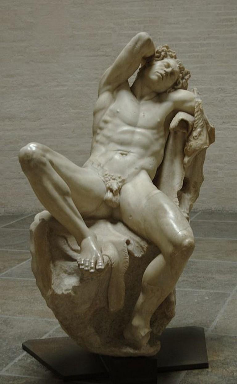 Barberini Faun, 230-200 BC | © Bibi Saint-Pol/WikiCommons