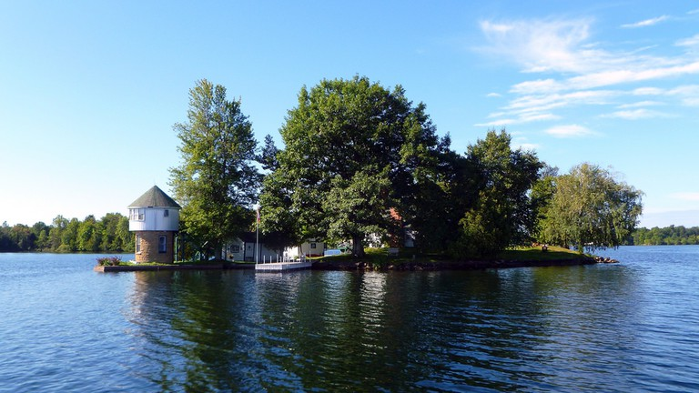 Tower Island 2, leaving Grindstone Island, Big Rideau Lake, Ontario, Canada | © Cory Doctorow/Flickr