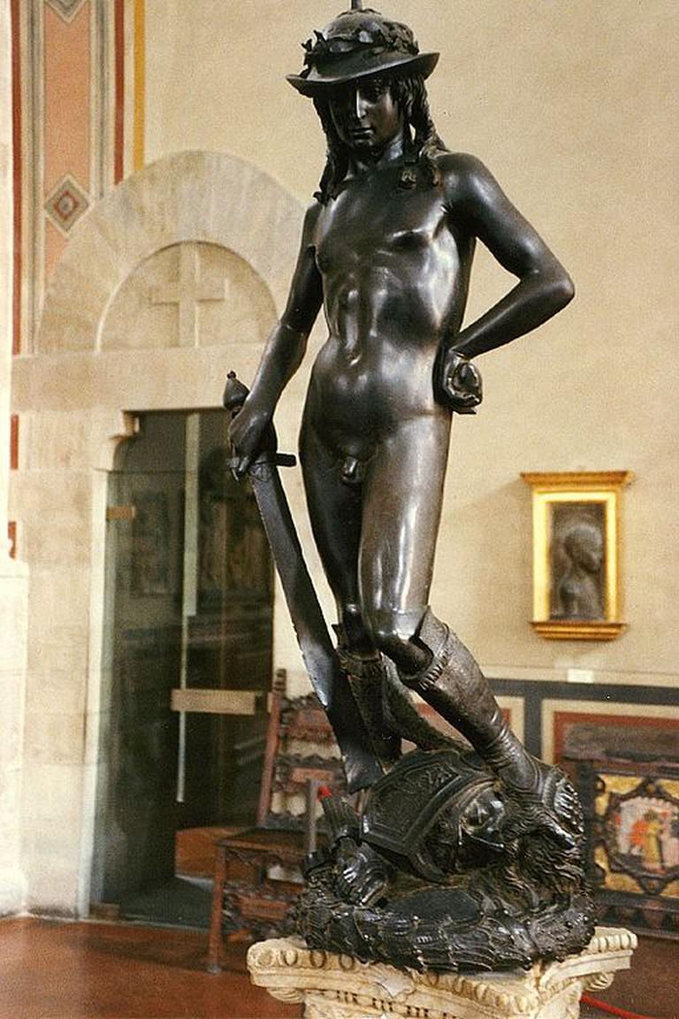 Donatello, David, 1430-40