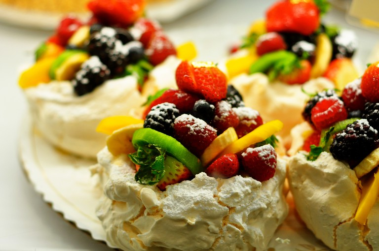 Passion Fruit Pavlova