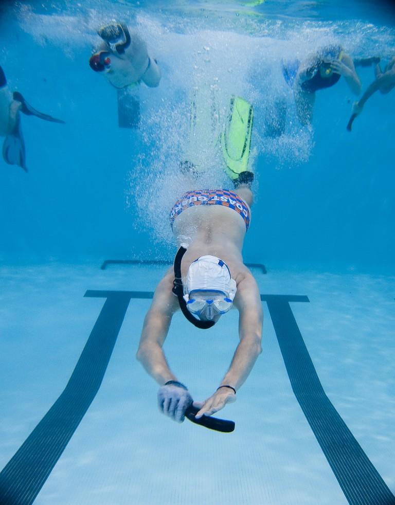 Coast Guard Academy Underwater Hockey Team | © US Coast Guard Academy / Flickr