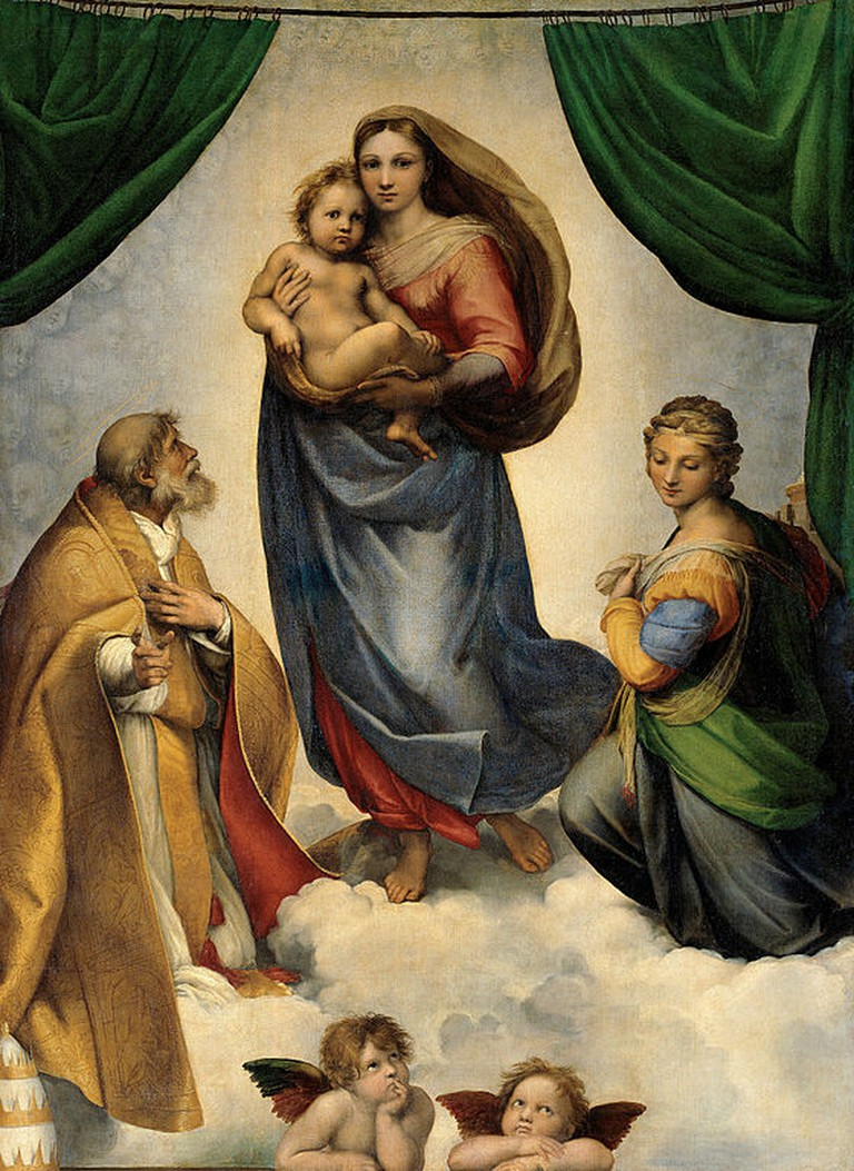 Raphael, Sistine Madonna, 1512 | © Gemäldegalerie Alte Meister/WikiCommons