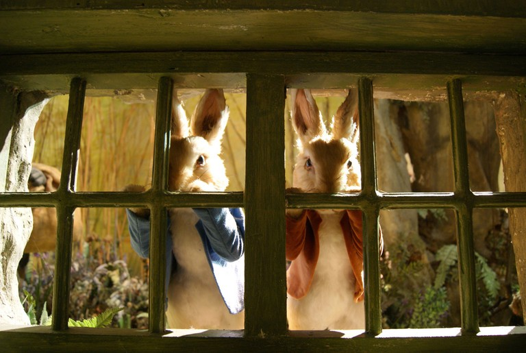 Peter Rabbit and Benjamin Bunny at the Beatrix Potter museum in Bowness © Ian Stannard/Flickr