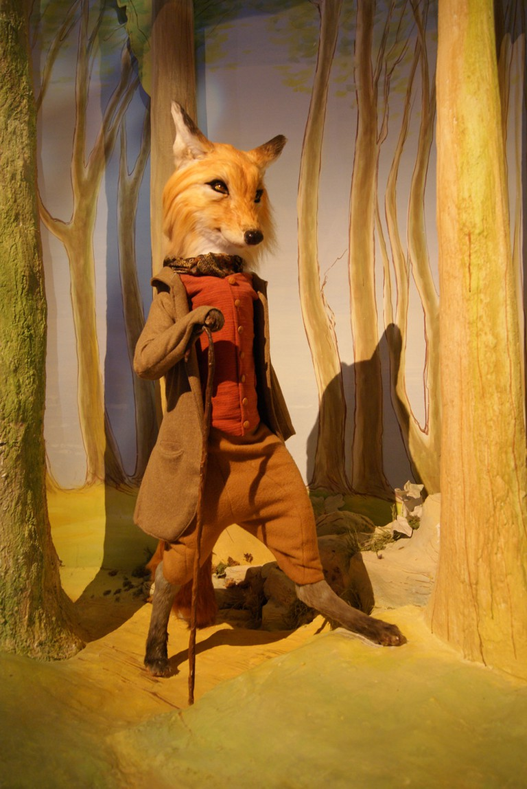 Mr. Tod at the Beatrix Potter museum in Bowness © Ian Stannard/Flickr