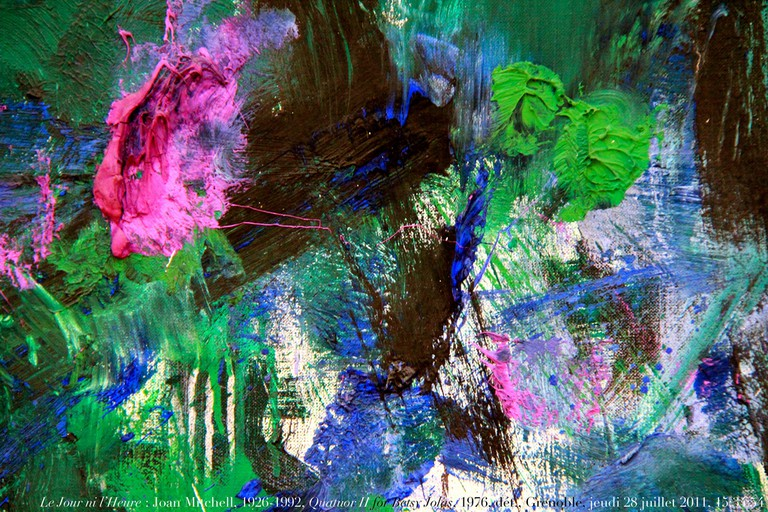Le Jour ni l'Heure 8739 : Joan Mitchell