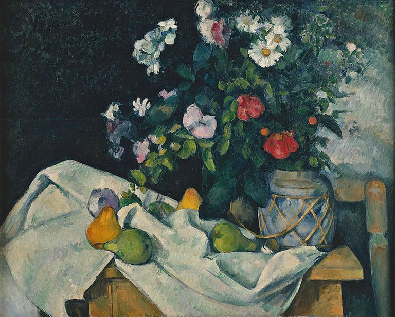 Cézanne's 'Still Life with Flowers and Fruit'