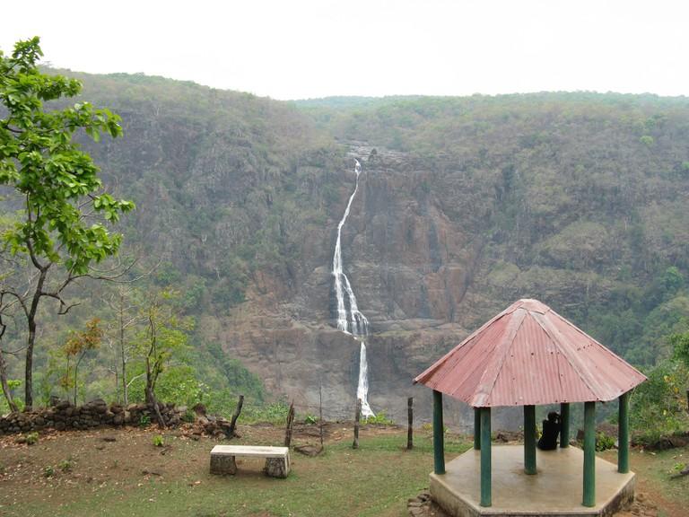 Barehipani Falls in Odisha