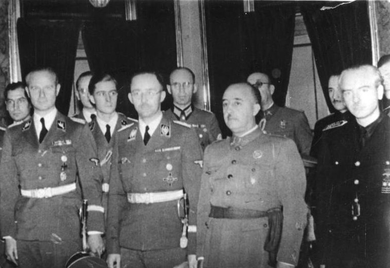 Franco in 1940 with Himmler ©Bundesarchiv, Bild 183-L15327/CC-BY-SA 3.0