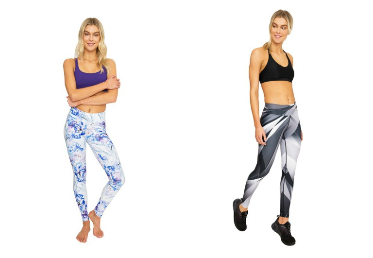 Iris and Shadow Leggings | Courtesy of Dharma Bums