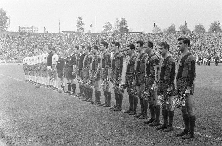 FC Barcelona in 1961 | © ANEFO / WikiCommons