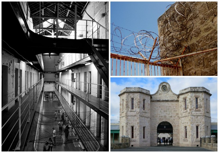 Fremantle Prison | © Gnangarra / WikiCommons // © Amanda Slater / Flickr // © David Stanley / Flickr