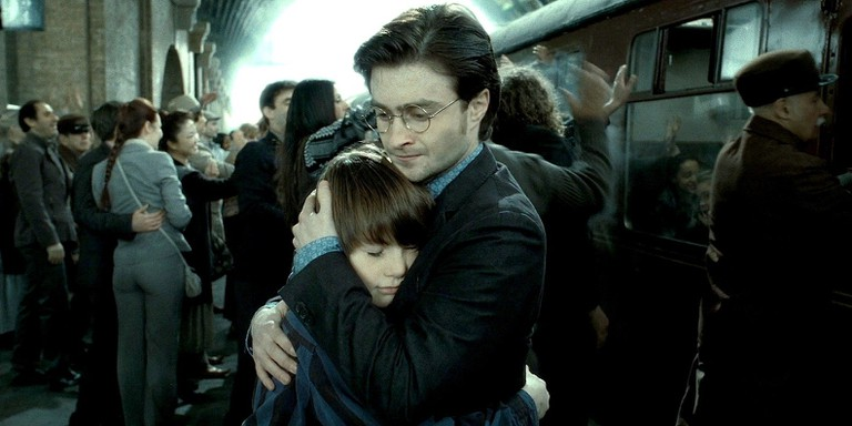 Harry and his son, Albus