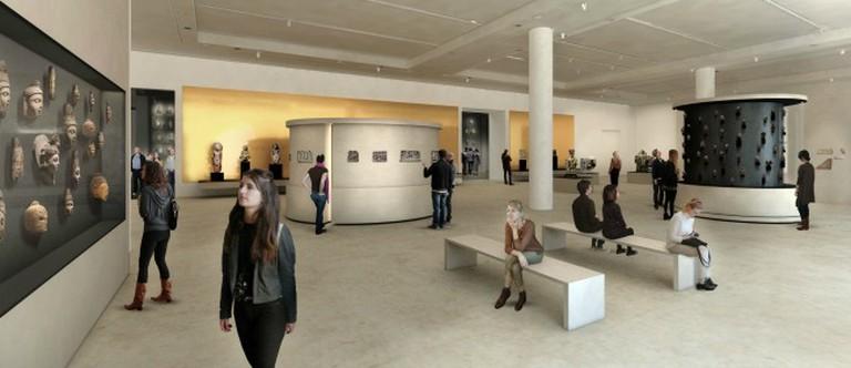 © Stiftung Berliner Schloss - Humboldt Forum, exhibition design: Ralph Appelbaum Associates / malsyteufel