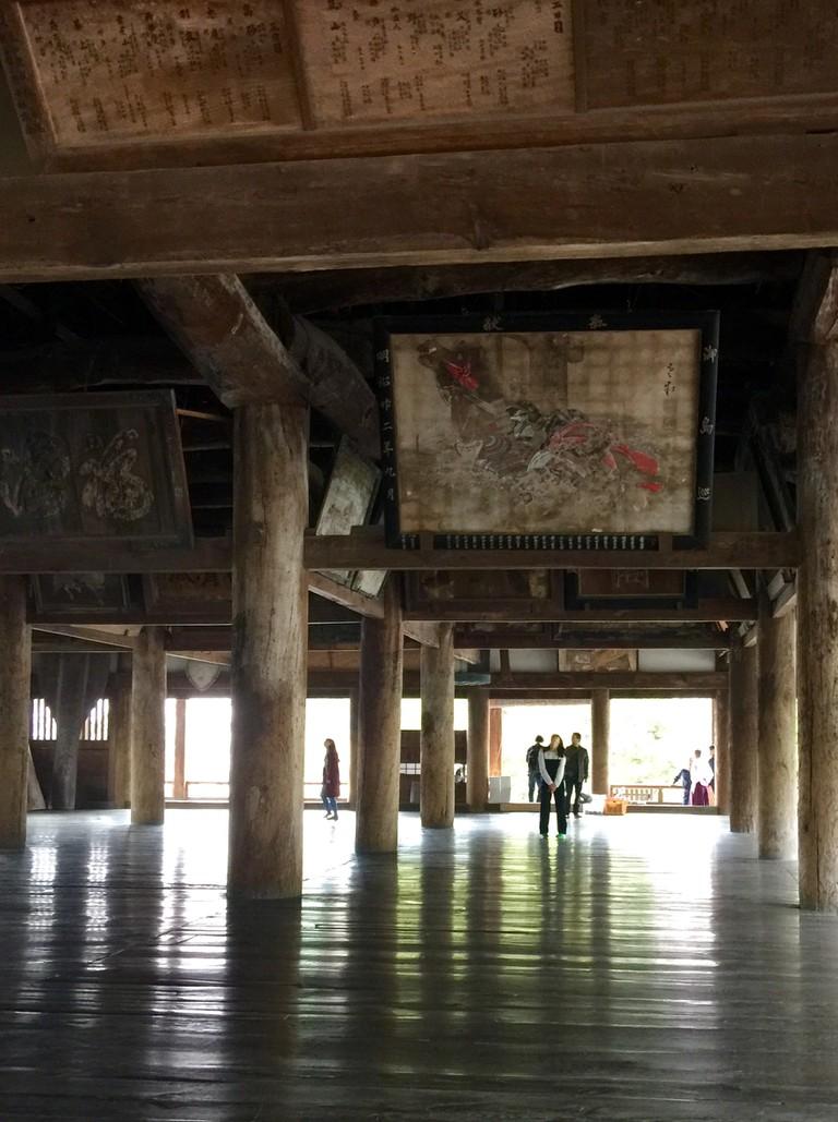 Senjo-kaku Interior