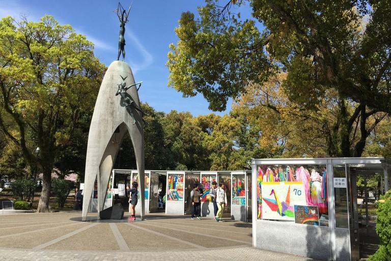 Children's memorial Monument