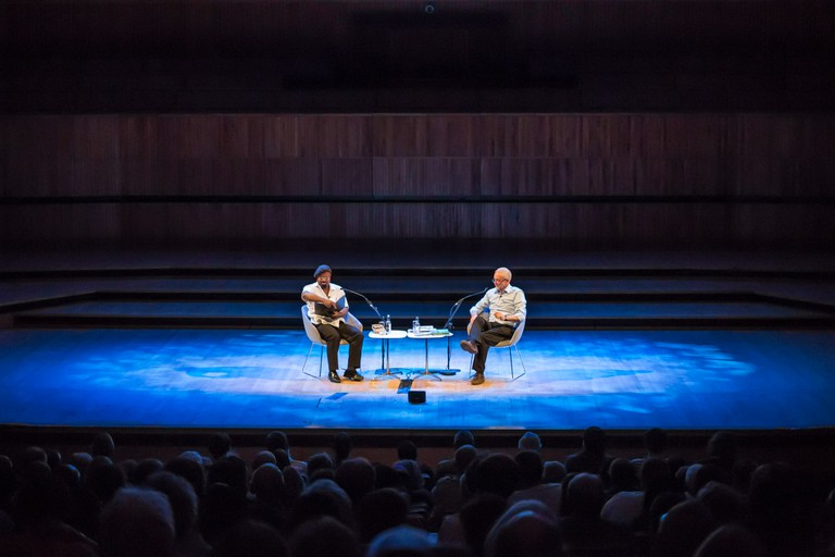 Ben Okri gives a reading|©Adam Weatherley/Southbank Centre