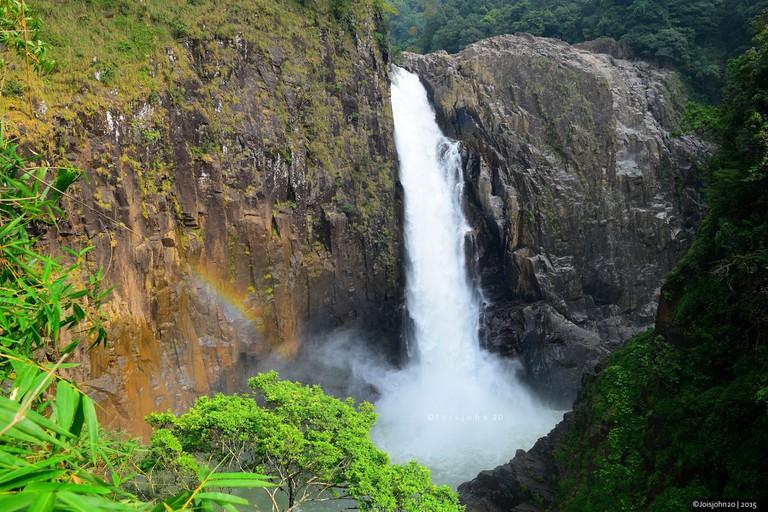 Langshiang Falls in Meghalaya