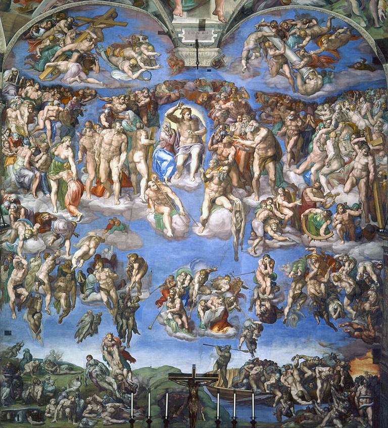 Michelangelo, Last Judgment, 1535-41 | © Sistine Chapel/WikiCommons