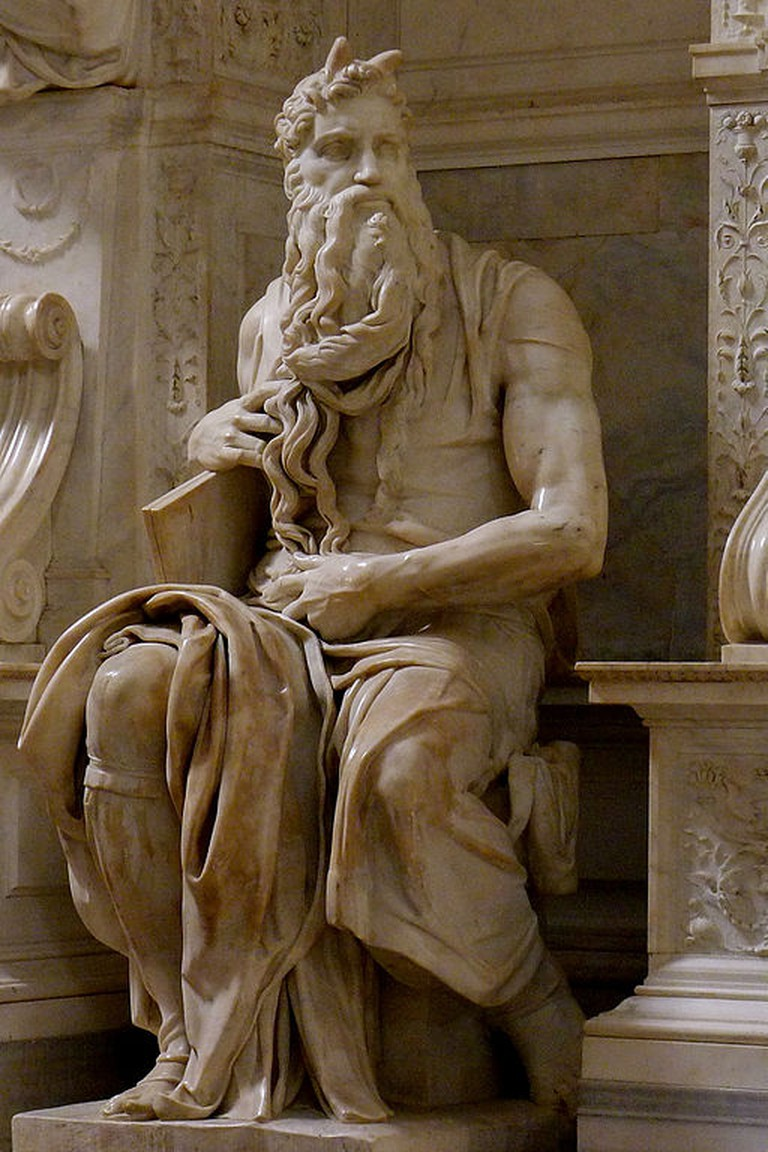 Michelangelo, Moses, 1513-15 | © Jörg Bittner Unna/WikiCommons