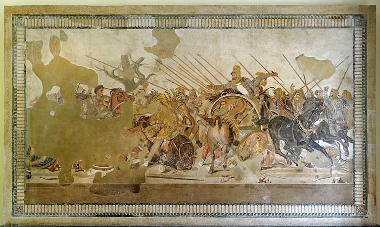 Alexander Mosaic, c. 100 BC | © Berthold Werner/WikiCommons