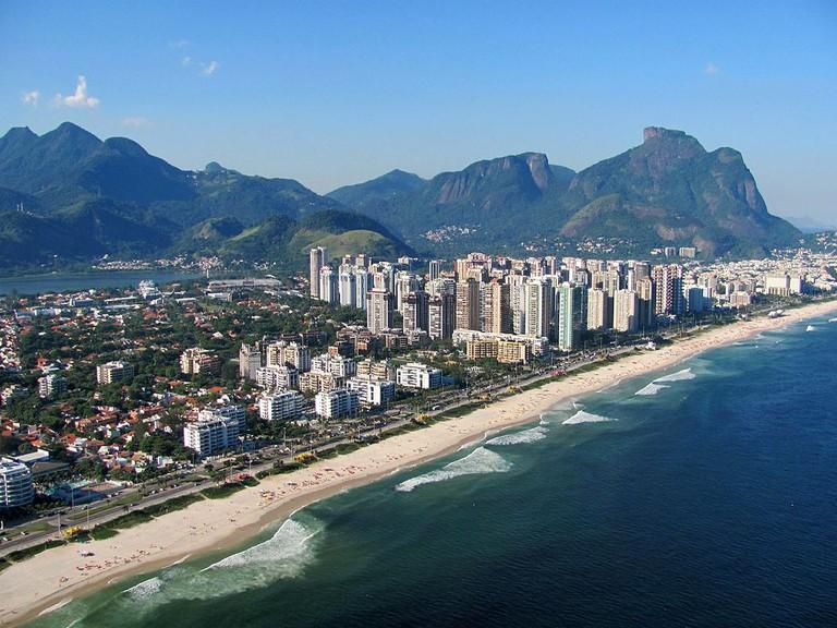 Barra da Tijuca beach