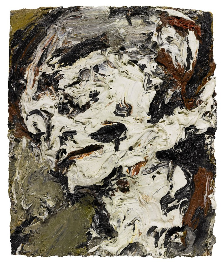 'Head of Gerda Boehm' by Frank Auerbach, 1965| Courtesy of Sotheby's
