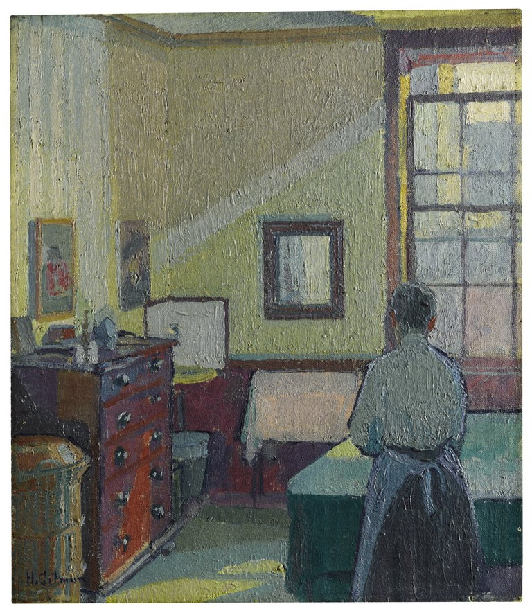 'Interior Mrs Mounter' by Harold Gilman| Courtesy of Sotheby's