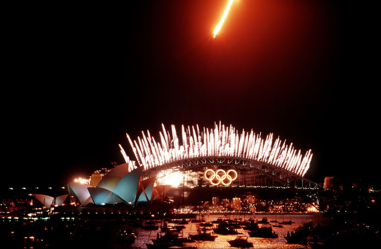 The Sydney 2000 Olympic Games' closing ceremony.