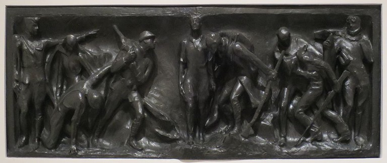 'War Panel for the Victory Arch' by Gertrude Vanderbilt Whitney, Wolfsonian-FIU Museum I