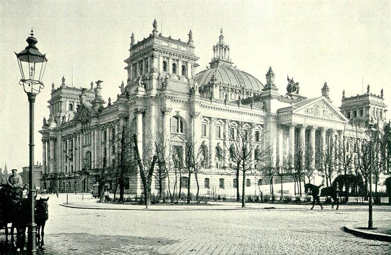 Reichstag in 1895 | © 1970gemini/WikiCommons