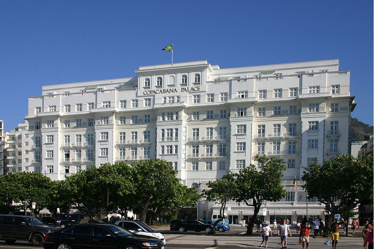 Copacabana Palace from the outside