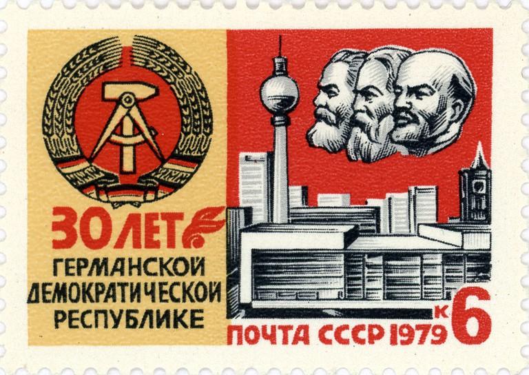© Post of the Soviet Union, designer A. Kalashnikov / Почта СССР, художник А. Калашников/WikiCommons