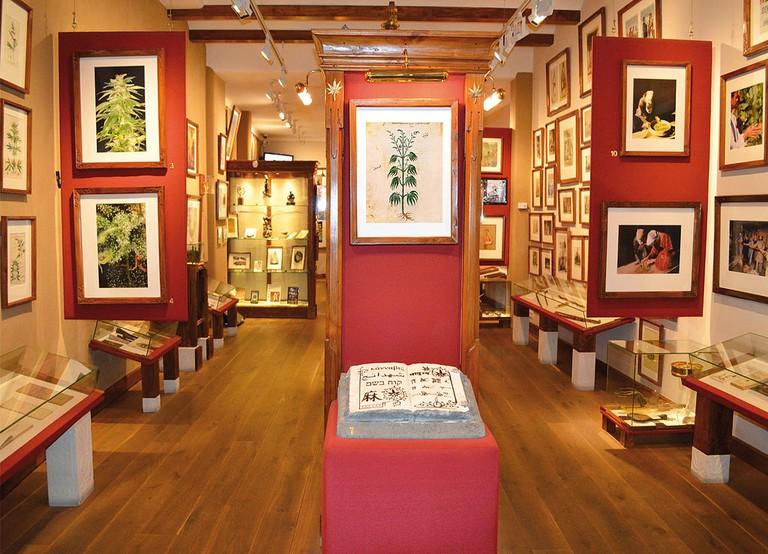 The Hash, Marihuana & Hemp Museum in Amsterdam