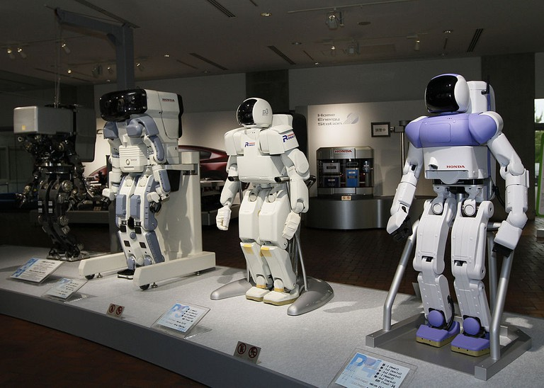 Robots may be there to usher visitors to the Summer 2020 Games