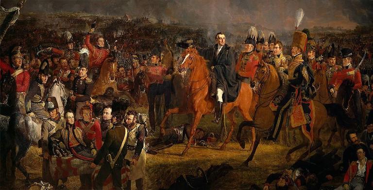 Jan Willem Pieneman: The Battle of Waterloo, 1824 | © The Rijksmuseum / Wikicommons