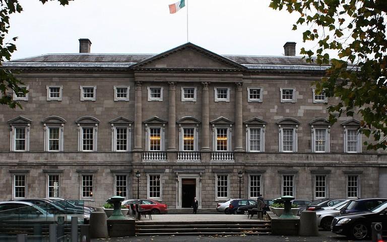 Leinster House, Dublin | ©Tebibyte/WikiCommons